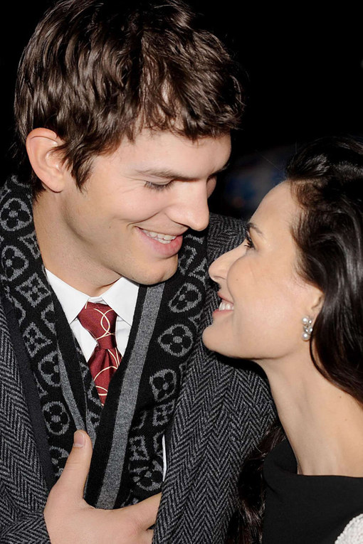 Demi Moore and Ashton Kutcher split: In pictures