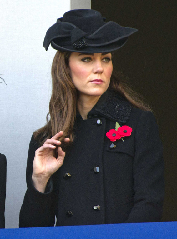 Il look autunnale di Kate Middleton