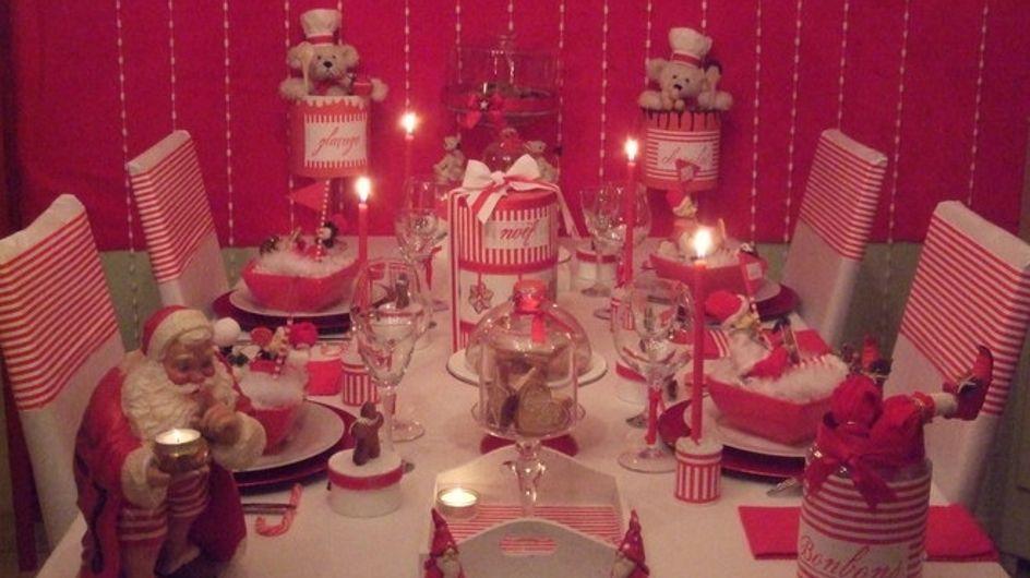 Piochez des idées pour une table de Noël 100% récup