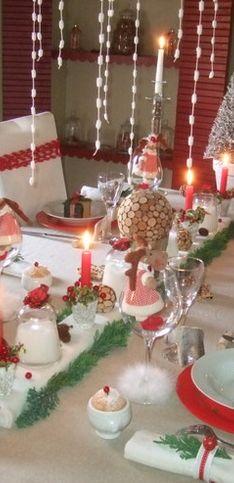 Des idées pour une table de Noël traditionnelle