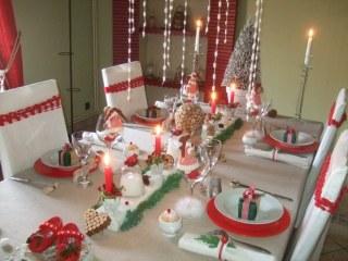Des Idees Pour Une Table De Noel Traditionnelle Album Photo
