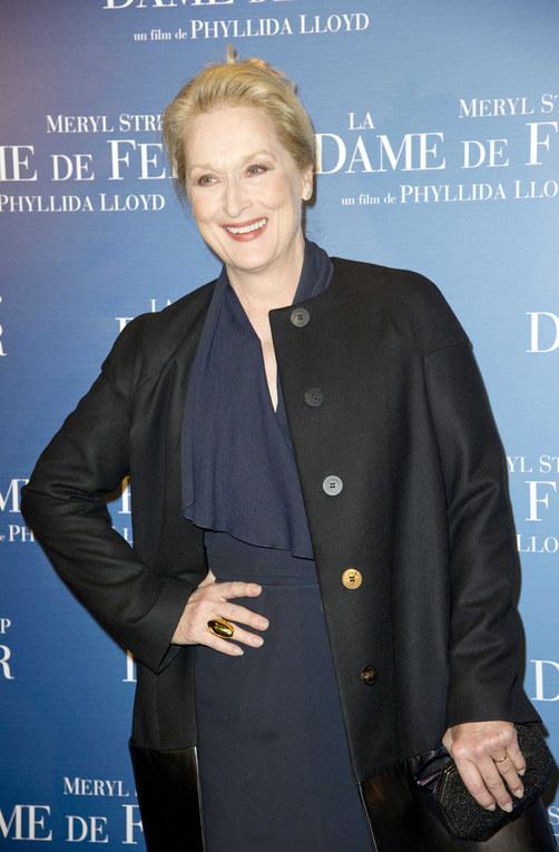 Meryl Streep alla premiere di