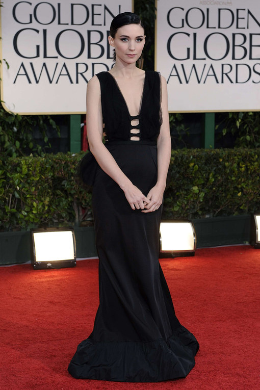 Rooney Mara Golden Globes 2012