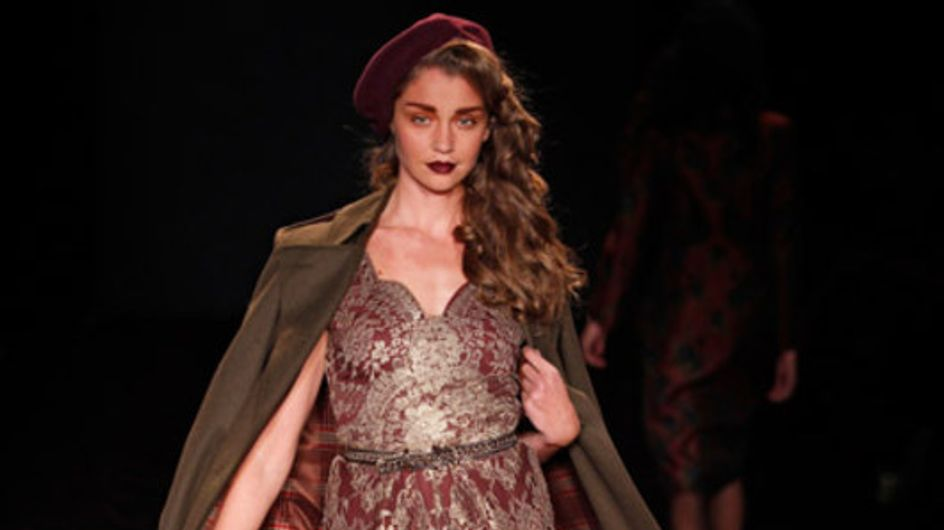 Retro & feminin: Lena Hoschek auf der Mercedes-Benz Fashion Week