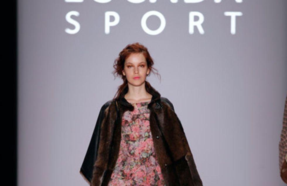 Brit-Chic mit Blüten: Escada Sport bei der Mercedes-Benz Fashion Week Herbst/Win