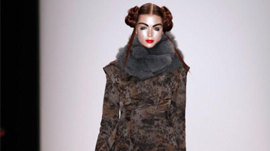 Glamouröser Auftritt: Guido Maria Kretschmer bei der Fashion Week Berlin H/W 201