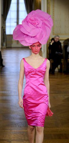 Les femmes fleur d'Alexis Mabille