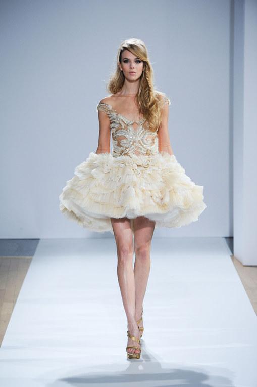 Défilé Dilek Hanif Haute Couture printemps-été 2012