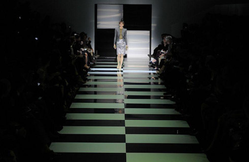 Les naïades vertes de Giorgio Armani