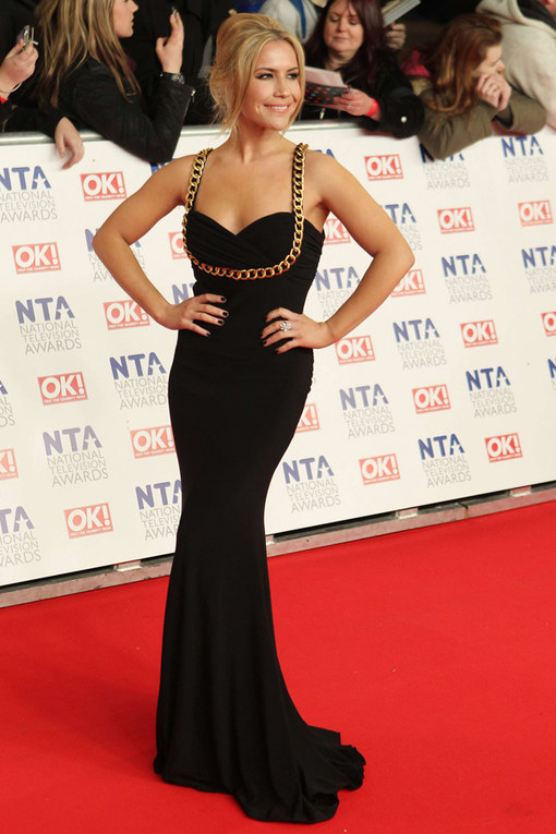 Heidi Range National Television Awards 2012