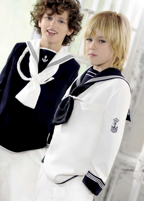 Los trajes de marinero