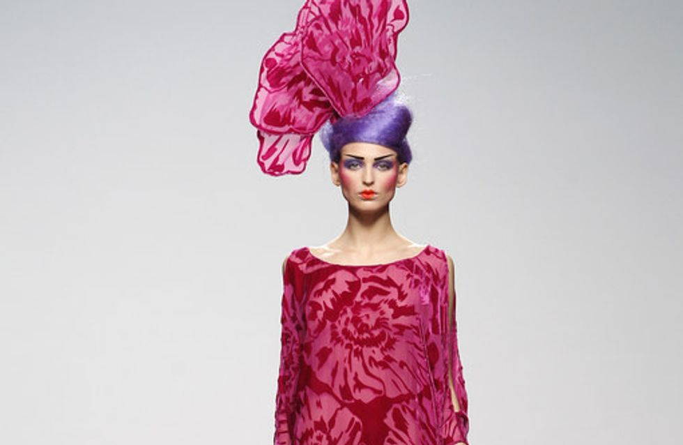 Elisa Palomino - Mercedes Benz Fashion Week Madrid Otoño-Invierno 2012