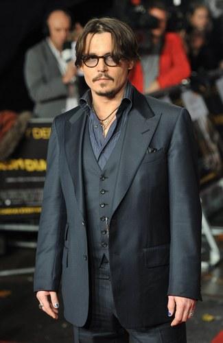 Johnny Depp alla presentazione di Rum Diary, 2011