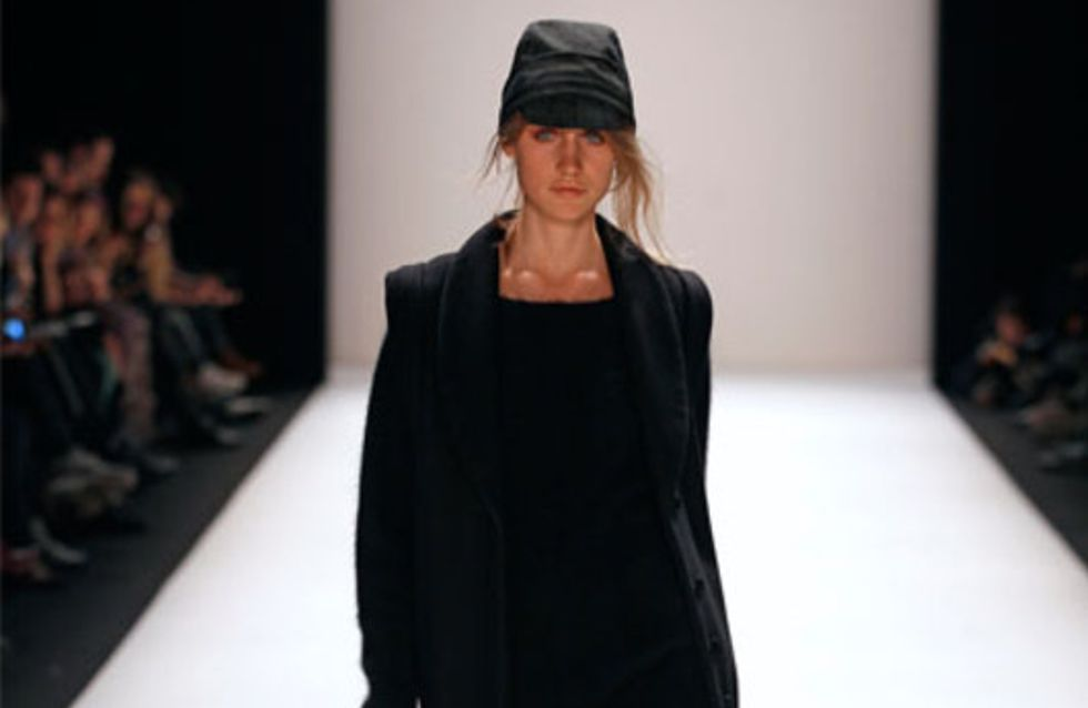 Noir: Mercedes-Benz Fashion Week Berlin Herbst/Winter 2012/2013