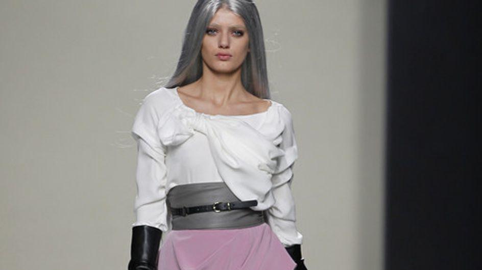 María Barros - Mercedes Benz Fashion Week Madrid Otoño-Invierno 2012