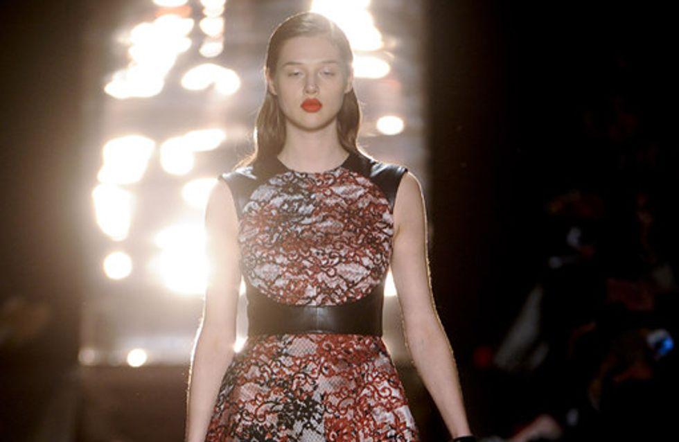 Monique Lhuillier auf der New York Fashion Week H/W 2012/13