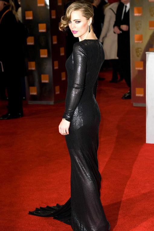 Melissa George The Baftas 2012