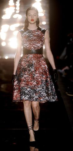 Monique Lhuillier New York Fashion Week autunno/inverno 2012/2013