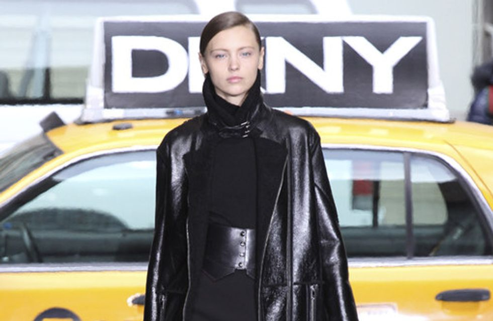 DKNY auf der New York Fashion Week H/W 2012/13