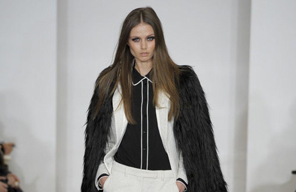 Rachel Zoe auf der New York Fashion Week H/W 2012/13