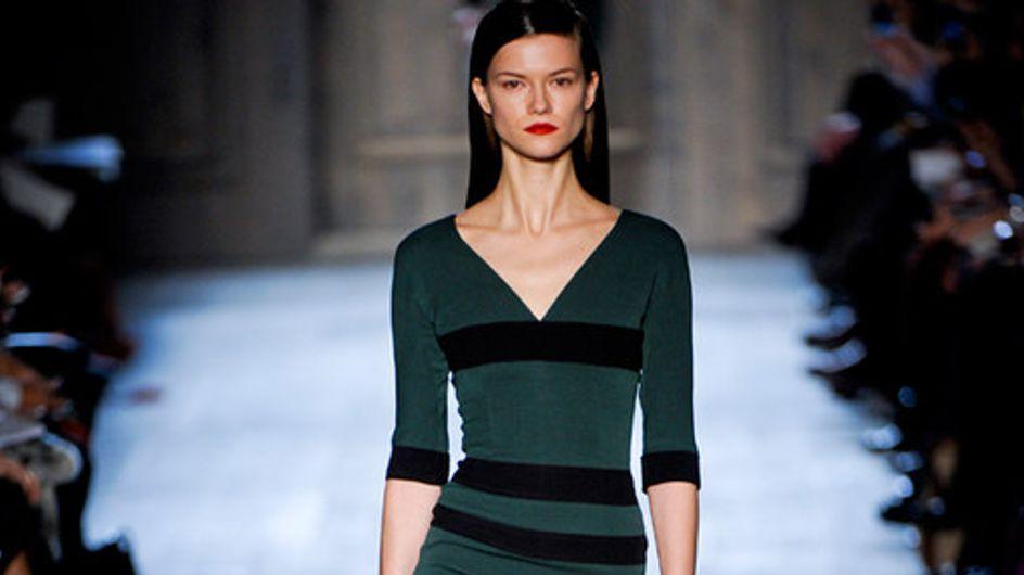 Schlichte Eleganz: Victoria Beckham auf der New York Fashion Week