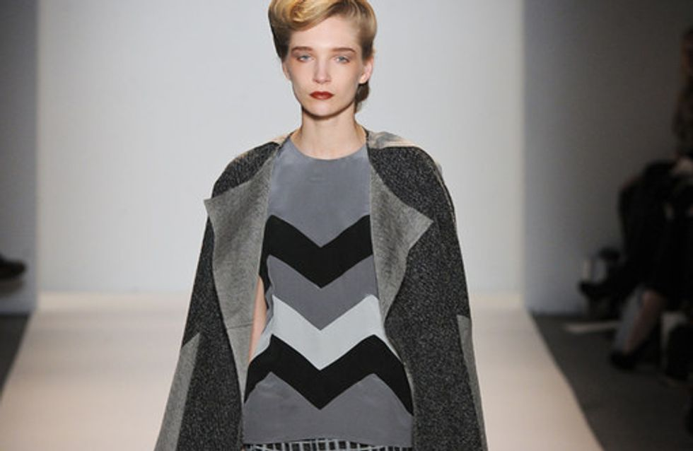 Lela Rose - New York Fashion Week Otoño Invierno 2012