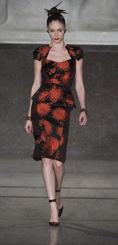 Zac Posen New York Fashion Weel autunno/inverno 2012/2013