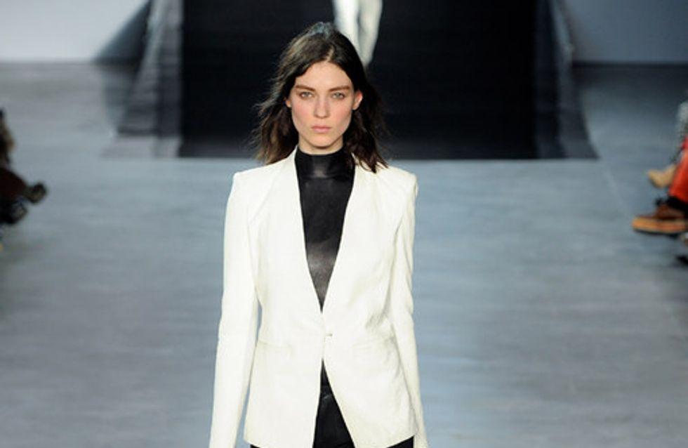 Helmut Lang auf der New York Fashion Week H/W 2012/13