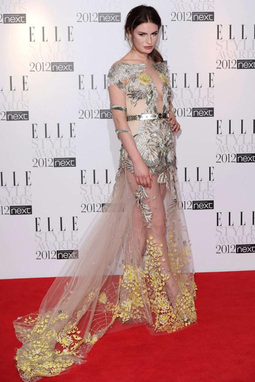 Tali Lennox Elle Style Awards 2012