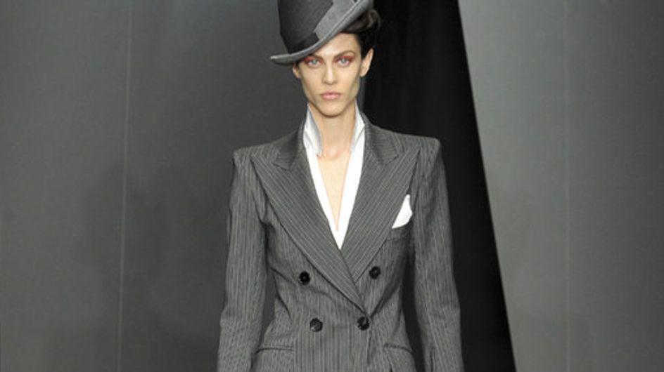 Donna Karan auf der New York Fashion Week H/W 2012/13