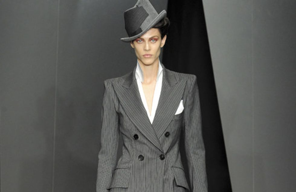 Donna Karan auf der New York Fashion Week H/W 2012/13