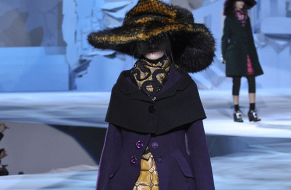 Marc Jacobs - New York Fashion Week Otoño Invierno 2012