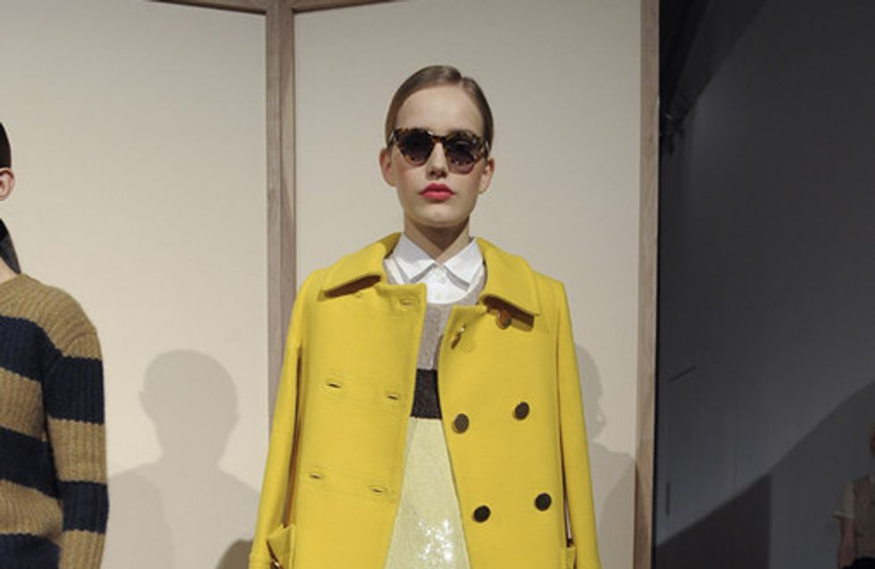J. Crew auf der New York Fashion Week H/W 2012/13