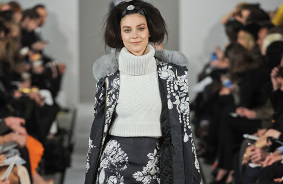 Oscar de la Renta auf der New York Fashion Week H/W 2012/13