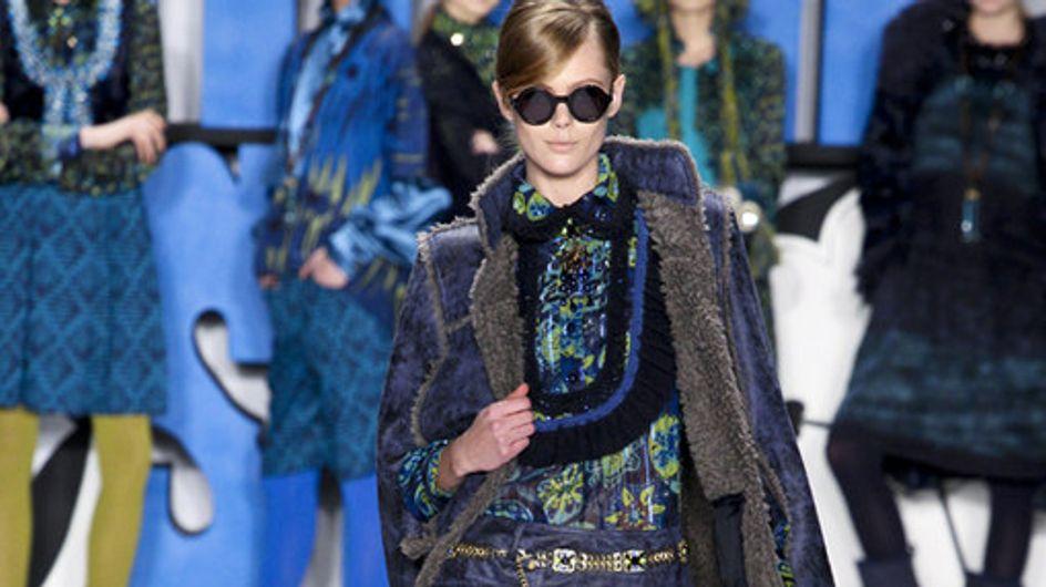 Anna Sui auf der New York Fashion Week H/W 2012/13