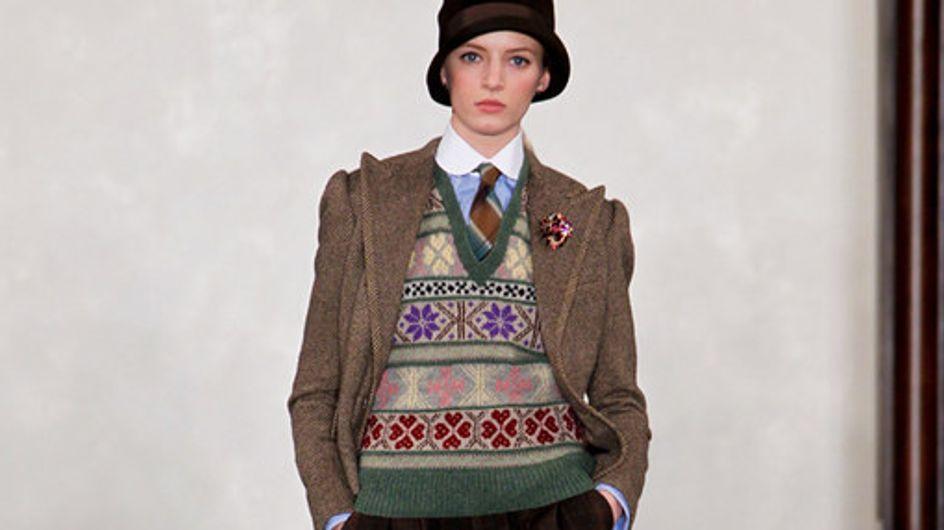 Ralph Lauren New York Fashion Week Autumn Winter 2012 2013
