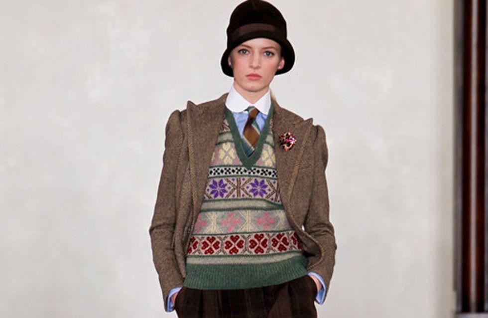 Ralph Lauren auf der New York Fashion Week H/W 2012/13