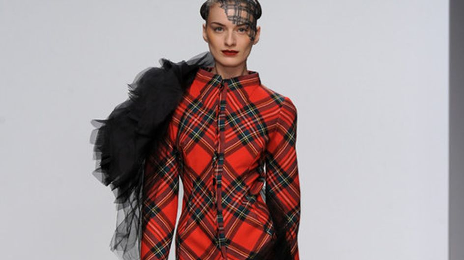 Corrie Nielsen - London Fashion Week Otoño Invierno 2012