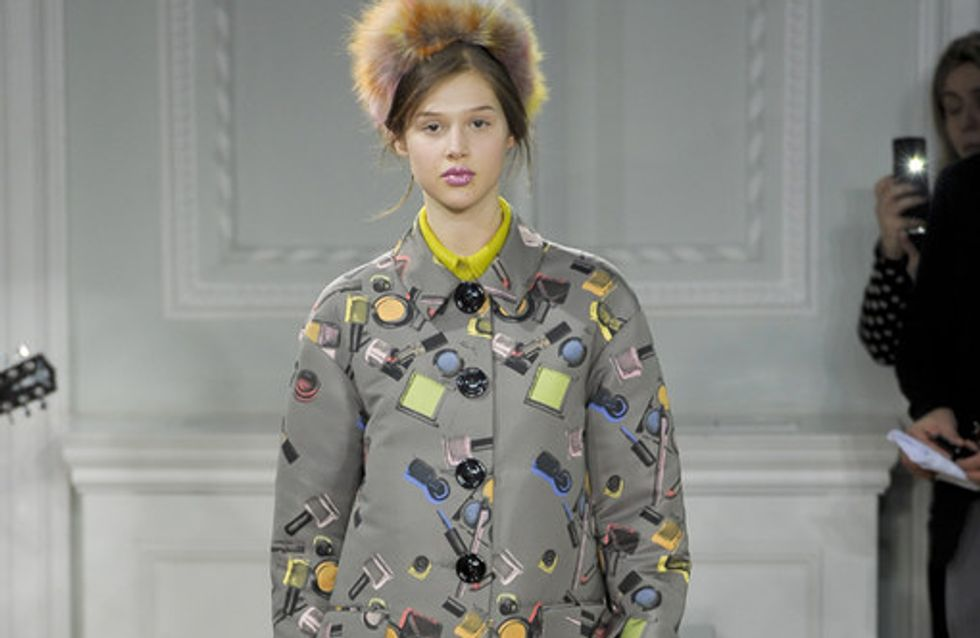 Moschino cheap & chic - London Fashion Week Otoño Invierno 2012