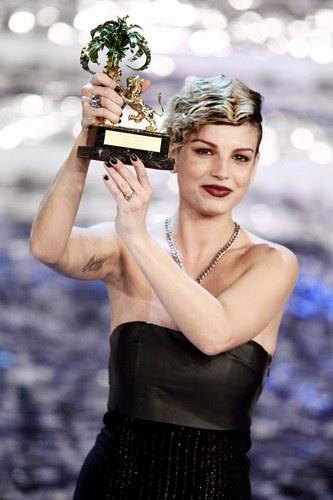 Emma vince il 62esimo Festival di Sanremo, 2012