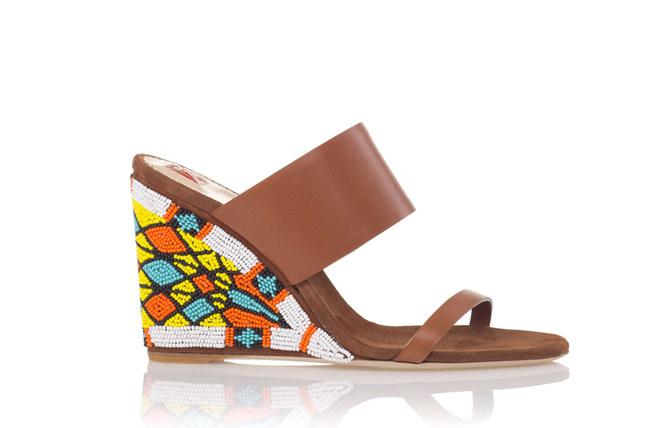 Gli accessori etnici della primavera estate 2012 - Sandali Ballin primavera estate 2012