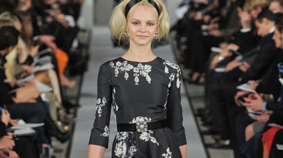 Oscar de la Renta New York Fashion Week autunno/inverno 2012/2013