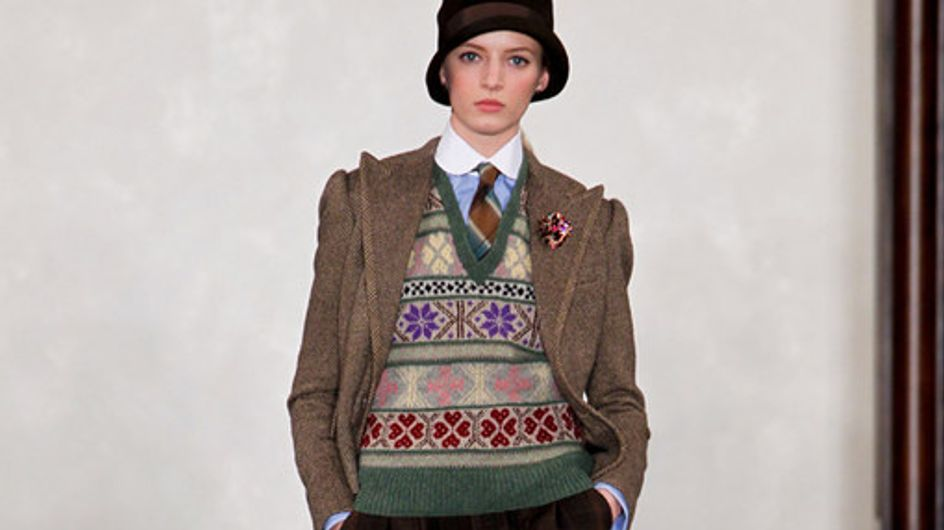 Ralph Lauren New York Fashion Week autunno/inverno 2012/2013