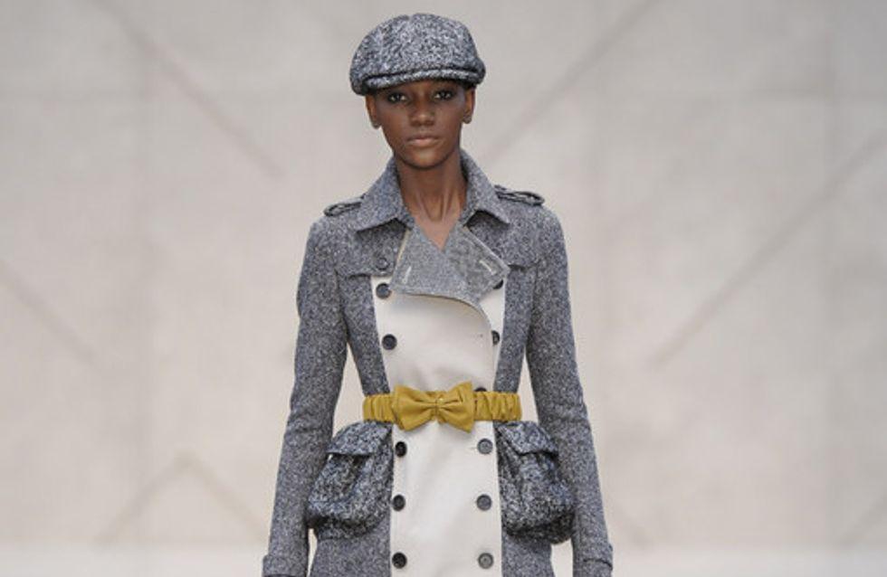 Elegant mit Schleife: Burberry Prorsum auf der Fashion Week London