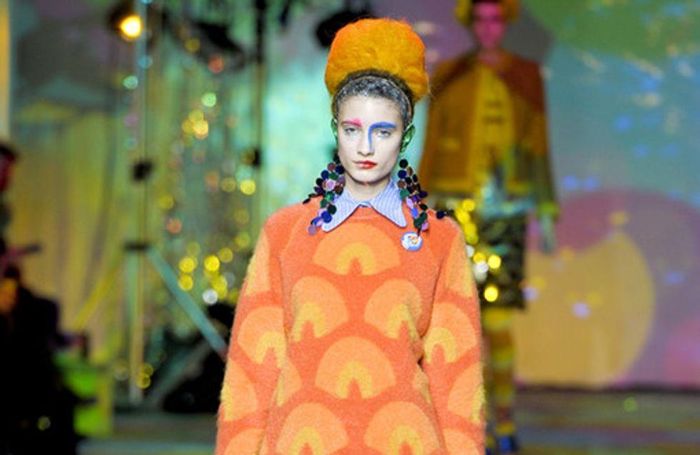 Meadham Kirchhoff London Fashion Week Autumn Winter 2012 2013