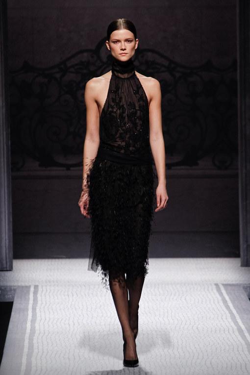 Sfilata Alberta Ferretti autunno inverno 2012-2013 - Milano Moda Donna