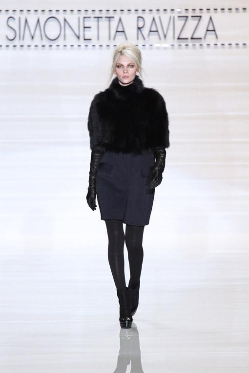 Sfilata Simonetta Ravizza autunno inverno 2012-2013 - Milano Moda Donna