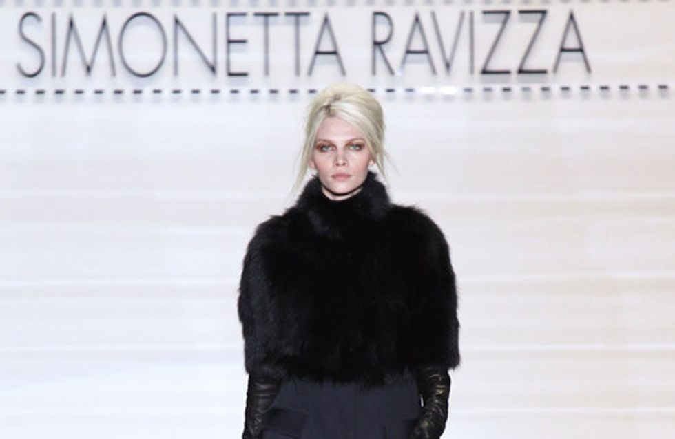 Simonetta Ravizza Milan Fashion Week autumn/winter 2012-2013