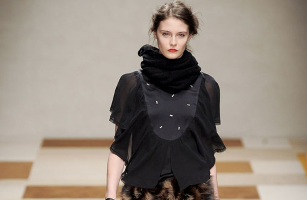 Kristina T - Milan Fashion Week Otoño Invierno 2012