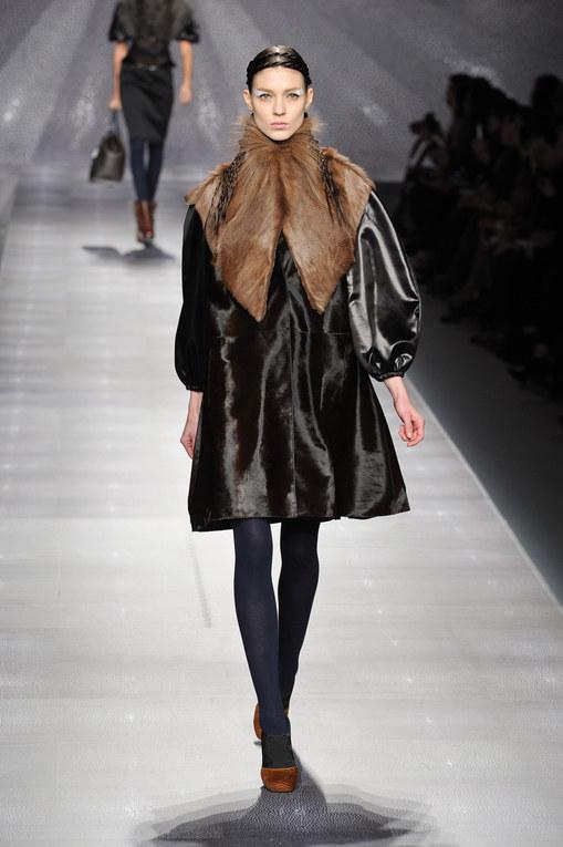Sfilata Fendi autunno inverno 2012-2013 - Milano Moda Donna